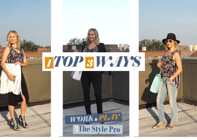 Ep. 1 | How to Wear ONE Top THREE Ways | Work & Play Fashion with The Style Pro