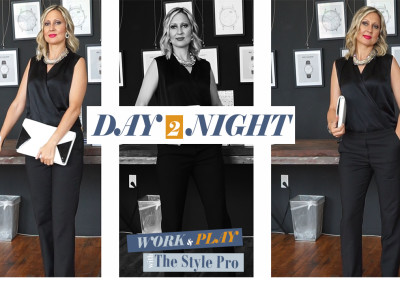 Ep. 2 | DAY To NIGHT Outfit | Work & Play Fashion with The Style Pro