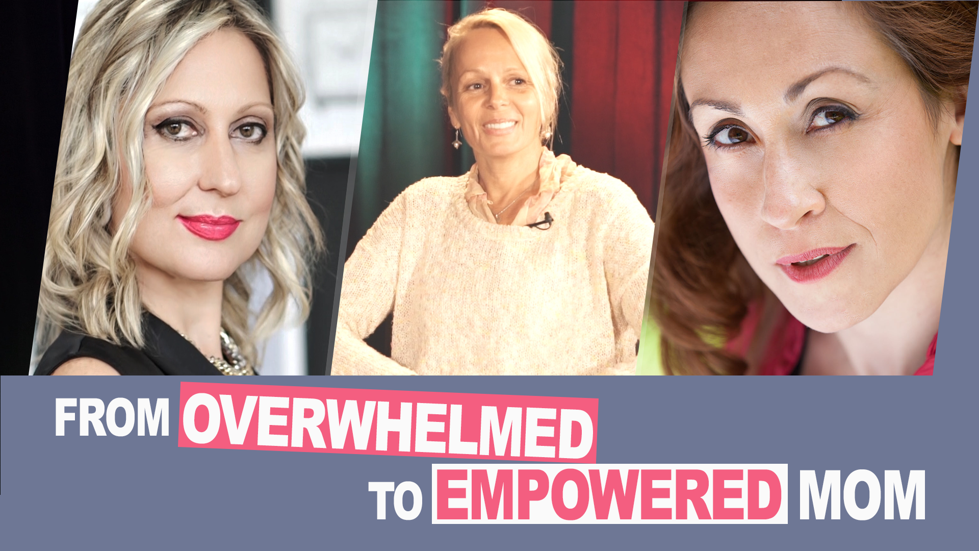 Ep. 3 | From Overwhelmed to Empowered Mom | #MomsOnAMission