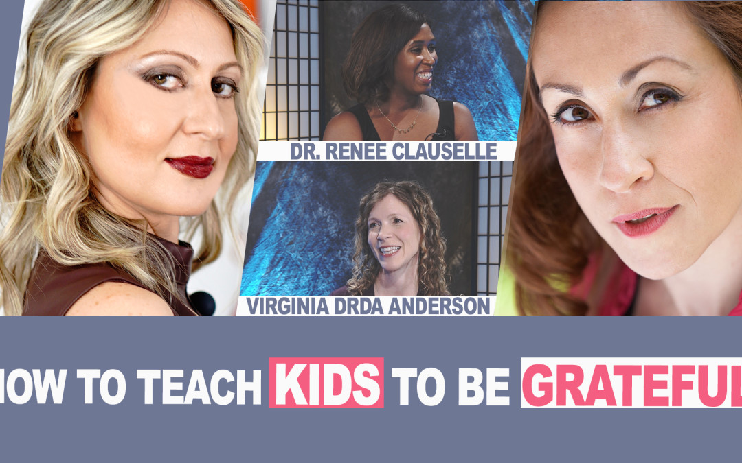 Ep. 5 | How to Teach Kids to be Grateful | #MomsOnAMission