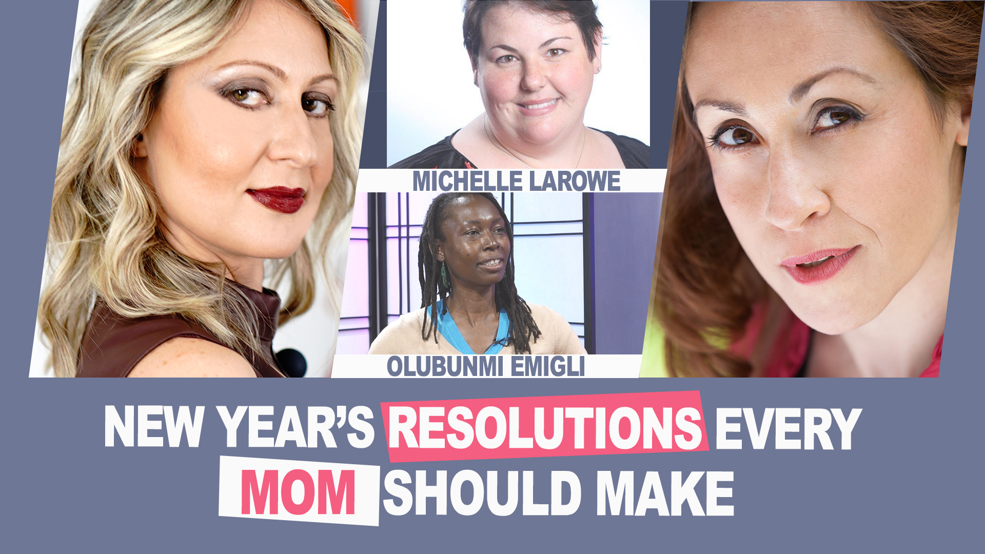 Ep. 6 | New Year's Resolutions Every Mom Should Make | #MomsOnAMission